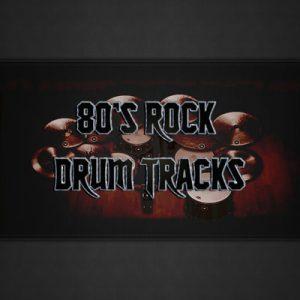 80's Rock Drum Tracks