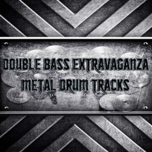 Double Bass Extravaganza Metal Drum Tracks