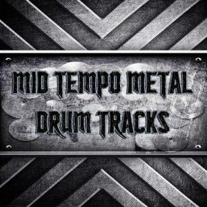 Mid Tempo Metal Drum Tracks