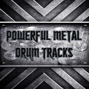 Powerful Metal Drum Tracks