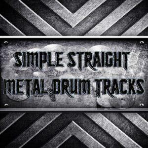 Simple Straight Metal Drum Tracks