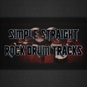 Simple Straight Rock Drum Tracks